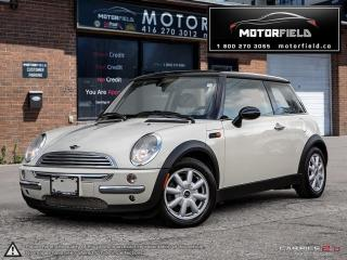 Used 2004 MINI Cooper *ACCIDENT FREE, CERTIFIED, PANO ROOF* for sale in Scarborough, ON