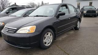Used 2001 Honda Civic DX-G for sale in Sarnia, ON