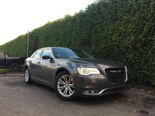 Used 2017 Chrysler 300 TOURING + NAV + DUAL-PANE SUNROOF + BACK-UP CAM + NO EXTRA DEALER FEES for sale in Surrey, BC