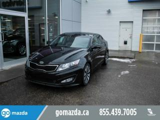 Used 2011 Kia Optima SX TURBO LEATHER NAV PANO ROOF GREAT SHAPE for sale in Edmonton, AB