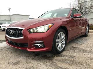 Used 2014 Infiniti Q50 CPO rates as low as 0.9%, 6YR/160,000 WARRANTY for sale in Edmonton, AB