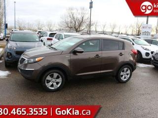 Used 2012 Kia Sportage LX; GREAT SUV, BLUETOOTH, CRUISE CONTROL, A/C AND MORE for sale in Edmonton, AB