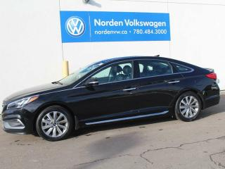 Used 2017 Hyundai Sonata SPORT TECH - NAV / HEATED SEATS-STEERING WHEEL / SUNROOF / ALLOY WHEELS for sale in Edmonton, AB