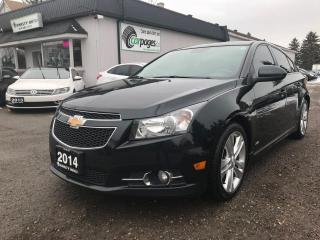Used 2014 Chevrolet Cruze for sale in Bloomingdale, ON
