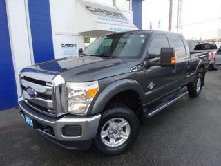 Used 2015 Ford F-350 XLT 4x4, Crew 6.5 Box, Diesel, One Owner for sale in Langley, BC