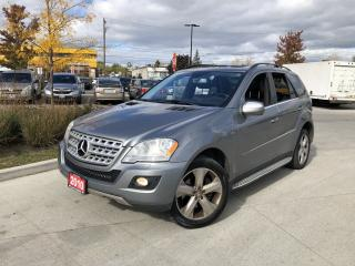 Used 2010 Mercedes-Benz ML 350 Bluetec, Nav, Disel, 3/Y Warranty Available for sale in Toronto, ON