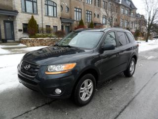 Used 2010 Hyundai Santa Fe AWD, NO ACCIDENTS, BLUETOOTH, CERTIFIED, NEW TIRES for sale in Toronto, ON
