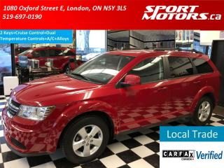 Used 2012 Dodge Journey SE Plus+Cruise Control+Push Start+A/C for sale in London, ON