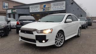 Used 2010 Mitsubishi Lancer GTS LEATHER, P-MOON for sale in Etobicoke, ON