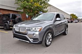 Used 2015 BMW X3 xDrive28d, NAV, SUNROOF, NO ACCIDENT for sale in North York, ON
