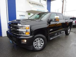 Used 2018 Chevrolet Silverado 3500 High Country 4x4 Crew, Diesel, Like New, 9,889 Kms for sale in Langley, BC