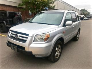 Used 2006 Honda Pilot EX-L, 4WD, GREAT CONDITION, CERTIFIED for sale in North York, ON