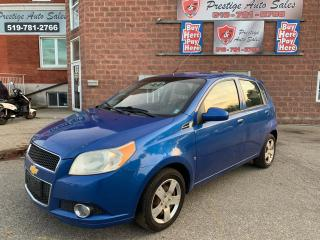 Used 2009 Chevrolet Aveo LS/NO ACCIDENT/CERTIFIED/WARRANTY INCL for sale in Cambridge, ON
