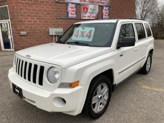 Used 2010 Jeep Patriot 4X4/2.4L/NO ACCIDENT/CERTIFIED/WARRANTY INCLUDED for sale in Cambridge, ON
