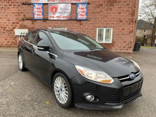 Used 2012 Ford Focus SEL/NO ACCIDENT/CERTIFIED/WARRANTY INCLUDED for sale in Cambridge, ON