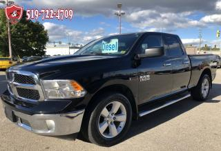 Used 2014 Dodge Ram 1500 SLT//ECODIESEL/4X4/QUAD CAB/NO ACCIDENT/WARRANTY for sale in Cambridge, ON