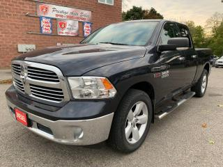 Used 2015 Dodge Ram 1500 SLT/ECODIESEL/4X4/QUAD CAB/ONE OWNER/NO ACCIDENT for sale in Cambridge, ON
