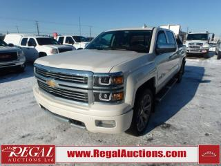 Used 2015 Chevrolet Silverado 1500 High Country Crew CAB 4WD 5.3L for sale in Calgary, AB