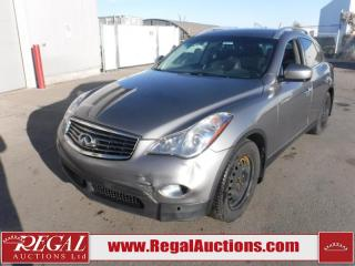 Used 2010 Infiniti EX35 Base 4D Utility AWD 3.5L for sale in Calgary, AB