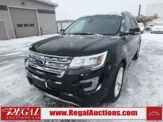 Used 2017 Ford EXPLORER LIMITED 4D UTILITY V6 4WD for sale in Calgary, AB