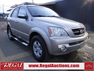 Used 2006 Kia Sorento Limited 4D Utility 4WD for sale in Calgary, AB