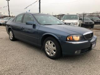 Used 2005 Lincoln LS Lxry Pkg, AccidentFree,Serviced,Certified,Warranty for sale in Woodbridge, ON