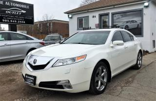 Used 2010 Acura TL SH-AWD SUNROOF LEATHER NO ACCIDENT for sale in Mississauga, ON