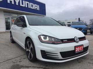 Used 2017 Volkswagen GTI 5-Door Autobahn for sale in Owen Sound, ON