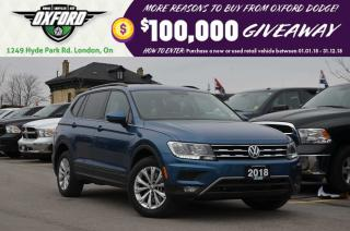 Used 2018 Volkswagen Tiguan Trendline - 2.0L Turbo, AWD, Back Up Cam for sale in London, ON