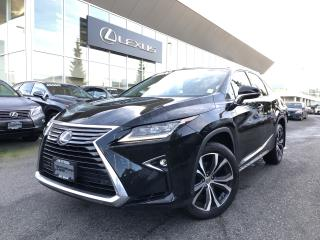 Used 2016 Lexus RX 350 8A Luxury PKG, Local, 1 Owner, Navi for sale in North Vancouver, BC