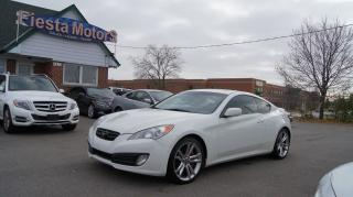 Used 2010 Hyundai Genesis Coupe 2.0 GT * 6 SPEED MANUAL * LEATHER * SUNROOF for sale in Woodbridge, ON