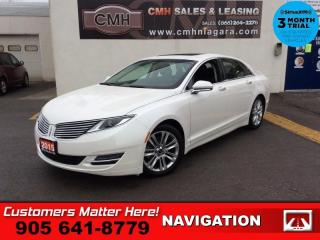 Used 2015 Lincoln MKZ Hybrid  RESERVE NAV ROOF COOLED-SEATS PWR-TRUNK for sale in St. Catharines, ON