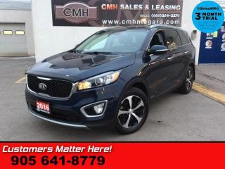 Used 2016 Kia Sorento EX+  AWD LEATHER ROOF 7-PASS CAM LD HS P/SEAT MEM BT for sale in St. Catharines, ON