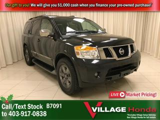 Used 2014 Nissan Armada Platinum for sale in Calgary, AB