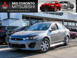 Used 2017 Mitsubishi Lancer ES Back Up Camera|Bluetooth|Keyless|Power Group for sale in North York, ON