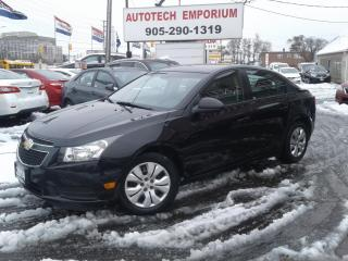 Used 2014 Chevrolet Cruze LS 6spd All Power Options/Keyless Entry &GPS* for sale in Mississauga, ON