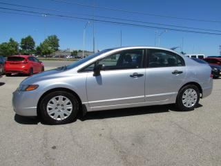 Used 2008 Honda Civic DX SEDAN AUTOMATIC CERTIFIED 2YR WARRANTY for sale in Milton, ON