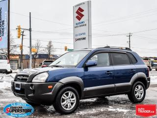 Used 2008 Hyundai Tucson GL 4x4 ~2.7L V6 ~Heated Leather ~Power Moonroof for sale in Barrie, ON