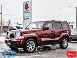 Used 2009 Jeep Liberty Limited 4x4 ~Nav ~Heated Leather ~Power Moonroof for sale in Barrie, ON