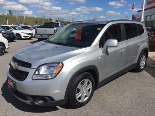 Used 2012 Chevrolet Orlando 1LT/ 7 PASSENGER!! for sale in Lindsay, ON