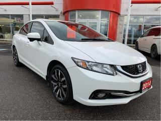 Used 2014 Honda Civic Touring/ 200000 KILOMETER EXT WARRANTY!!! for sale in Lindsay, ON