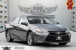 Used 2015 Toyota Camry SE, NO ACCIDENT, REAR CAM, ALLOY, BLUETOOTH for sale in Toronto, ON
