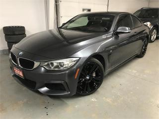 Used 2014 BMW 4 Series 435i xDrive for sale in Burlington, ON