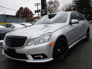 Used 2011 Mercedes-Benz E-Class E550 4MATIC ~LOW KMS~35KMS ONLY~NAVIGATION !!! for sale in Burlington, ON