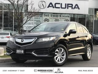 Used 2016 Acura RDX Tech at - Navigation | Power Liftgate for sale in Markham, ON