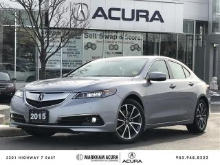 Used 2015 Acura TLX 3.5L SH-AWD w/Elite Pkg Navi, Park Sensors, Heated Steering Wheel for sale in Markham, ON