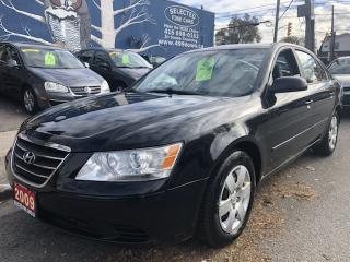 Used 2009 Hyundai Sonata GL for sale in Toronto, ON