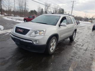 Used 2008 GMC Acadia 7 seater Leather AWD Safetied We Finance SLT1 for sale in Madoc, ON