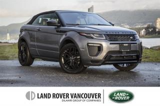 Used 2018 Land Rover Evoque HSE DYNAMIC Convertible *Certified Pre-Owned Warranty! for sale in Vancouver, BC