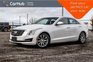 Used 2018 Cadillac ATS Sedan Luxury AWD|Navi|Sunroof|Backup Cam|Bluetooth|R-Start|Leather|17